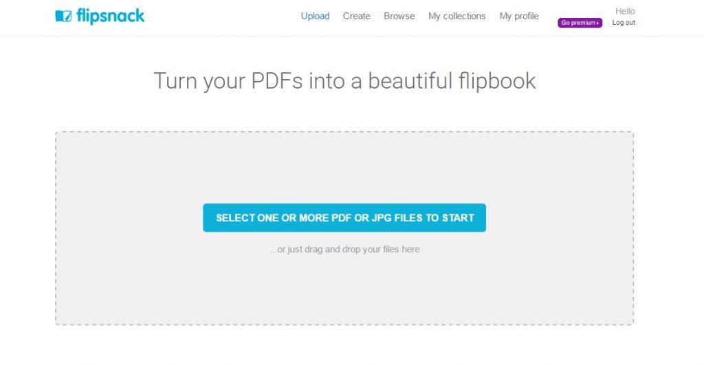 upload pdf