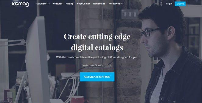 Joomag Website